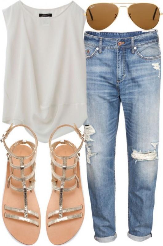 10 Cool Ways To Wear Boyfriend Jeans ThisSummer