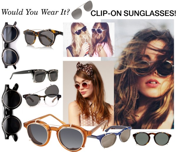 wear this oversized or round clip on sunglasses - larisoltd.com fb09e8f401