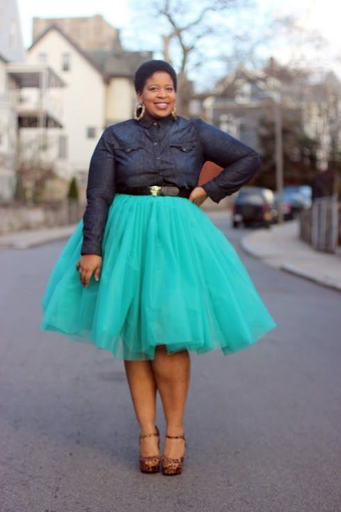 19ba8b37c20 5 ways to wear a tulle skirt for plus size - larisoltd.com