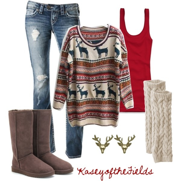 5-casual-christmas-party-outfits - 5 Casual Christmas Party Outfits - Larisoltd.com