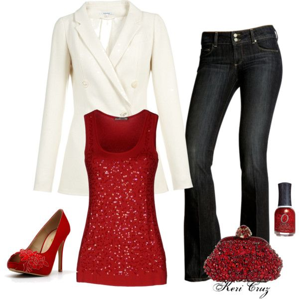 Beautiful Casual Christmas Party Outfit Ideas Part - 9: 5-casual-christmas-party-outfits2