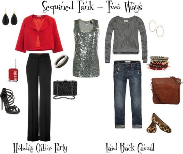 casual christmas party outfit 1 - 8 Outfit Ideas For Casual Christmas Party - Larisoltd.com
