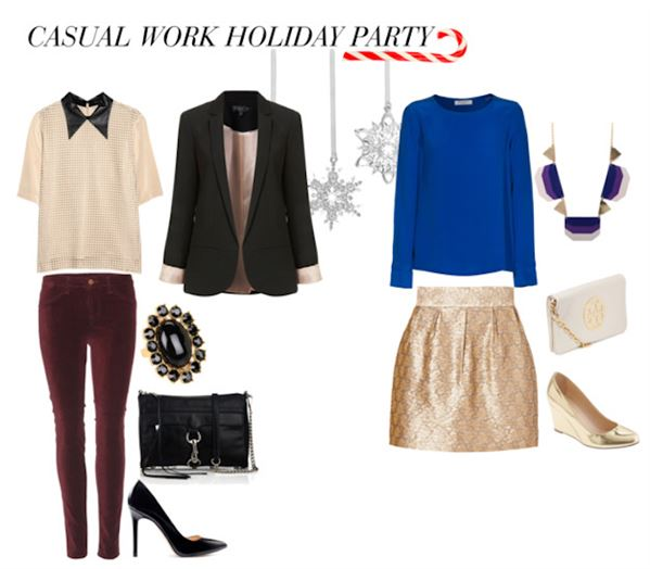 Casual Christmas Party Ideas Part - 15: Casual Christmas Party Outfit 2