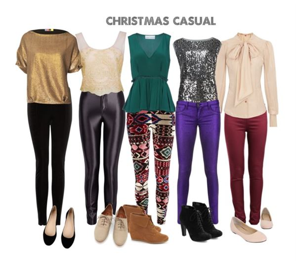 casual christmas party outfit 8 - 8 Outfit Ideas For Casual Christmas Party - Page 8 Of 8 - Larisoltd.com