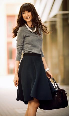 9 Winter Outfit Ideas Office8