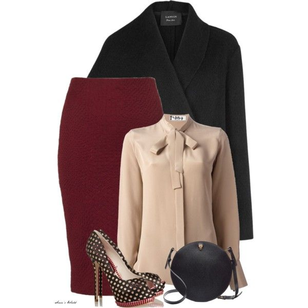 8 winter work outfits with skirts larisoltdcom