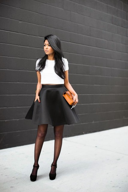 12 chic black and white outfits for work  larisoltd