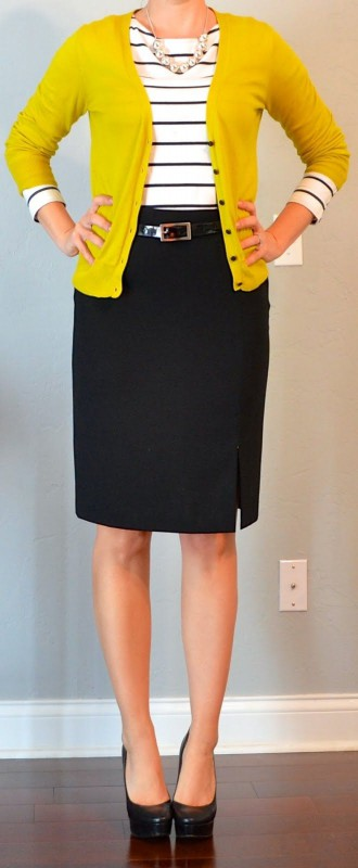 582b017538 8 spring work outfits with a black skirt - larisoltd.com