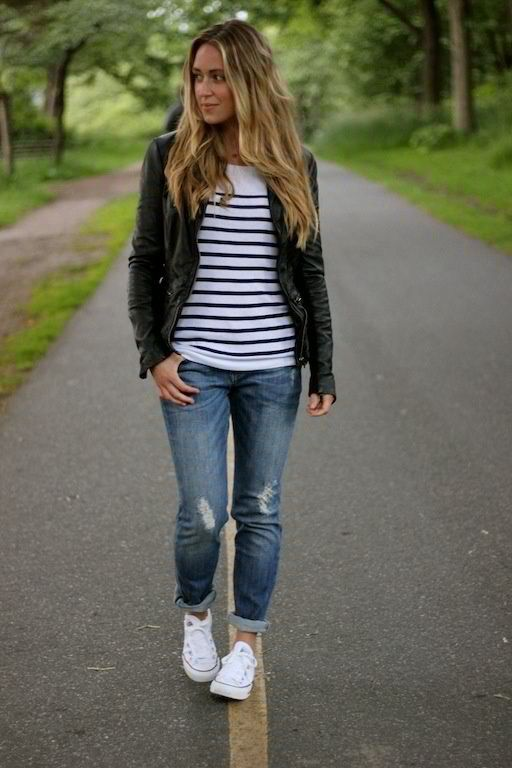 5 cute spring outfits with stripes Page 3 of 5