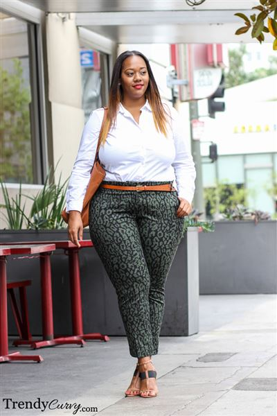 7 Plus Size Work Clothes Combinations You Can Copy