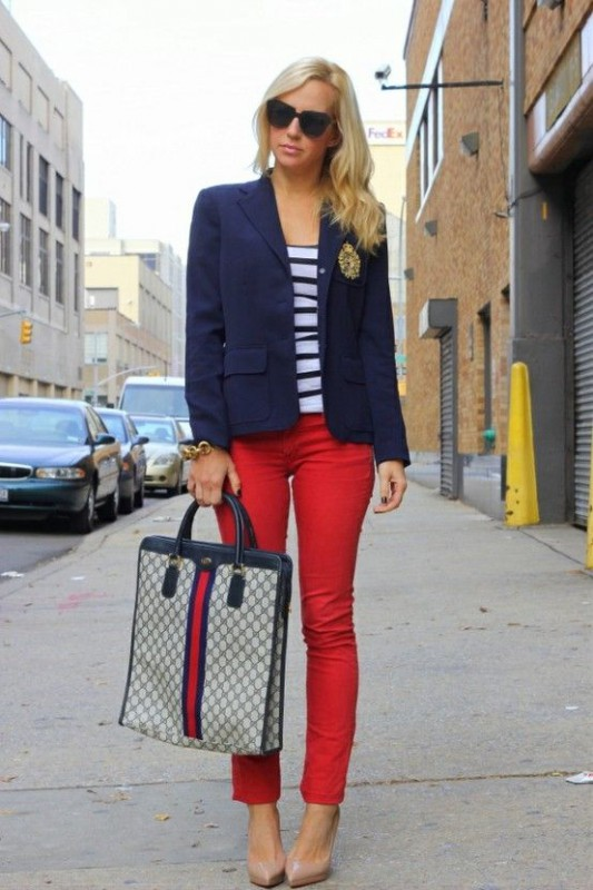 9 Ways To Wear Red Pants Outfits At Work - Page 2 Of 9 - Larisoltd.com
