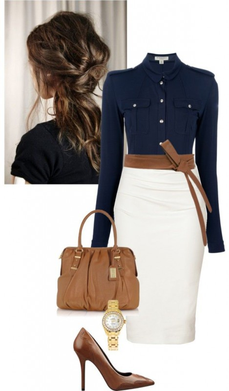 5d437a2acec 8 nice casual business clothes combinations for women - Page 6 of 8 ...