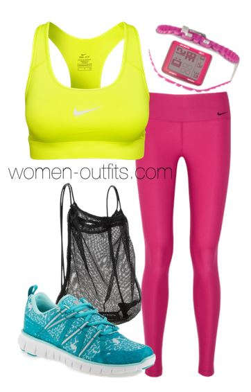 workout outfits2 - 11 workout outfits with happy colors!
