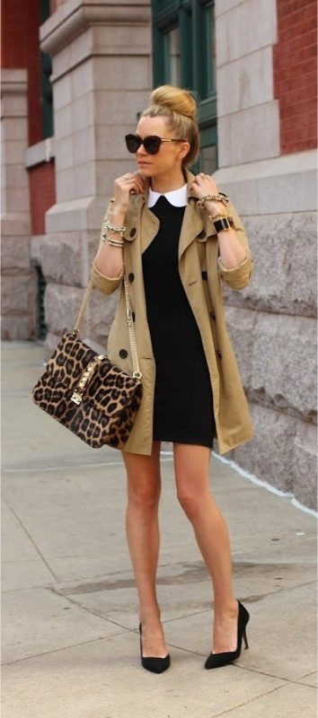 11 classic trench coat outfits for fall  page 8 of 11
