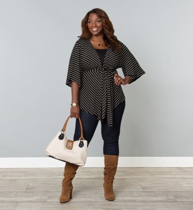 9 Cute Fall Curvy Women Outfits For The Office - Page 6 Of 9 - Larisoltd.com