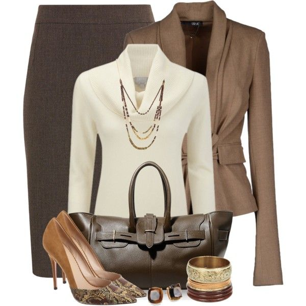 7 elegant winter outfits for the office - Page 2 of 7 - larisoltd.com
