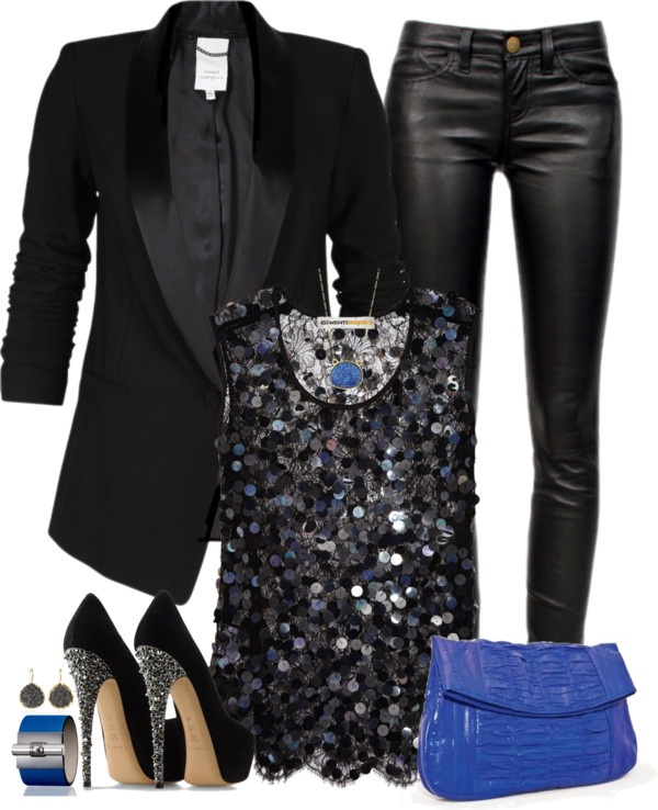 7 leather pants holiday outfits that every woman can wear ...