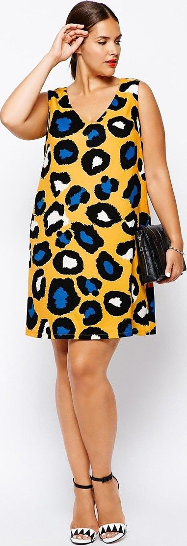 5 Plus Size Animal Print Dresses That You Will Love Page 3 Of 5