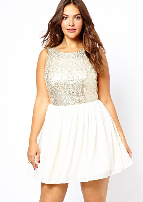 0abcf5a37cbd 5 ways to wear a plus size sequin top that you will love - Page 2 of ...
