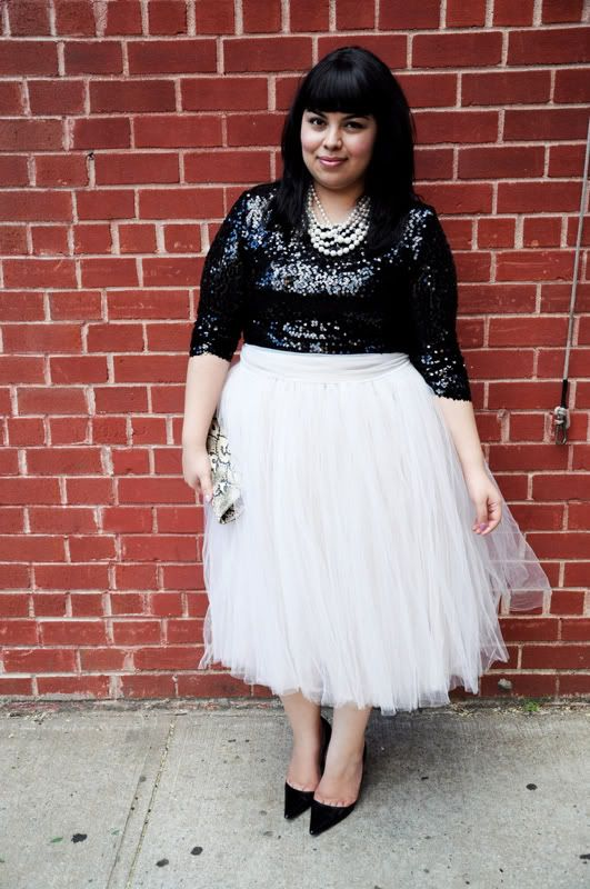 aee1fd8f54f23 5 ways to wear a plus size sequin top that you will love - Page 4 of ...