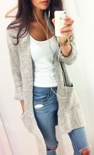 cozy casual outfit