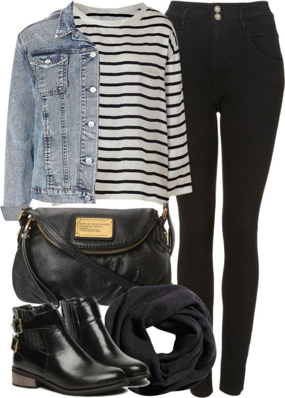 7,school,outfits,with,high,waisted,jeans,3