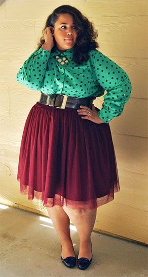 5 Ways To Wear A Plus Size Tulle Skirt In Winter Page 4