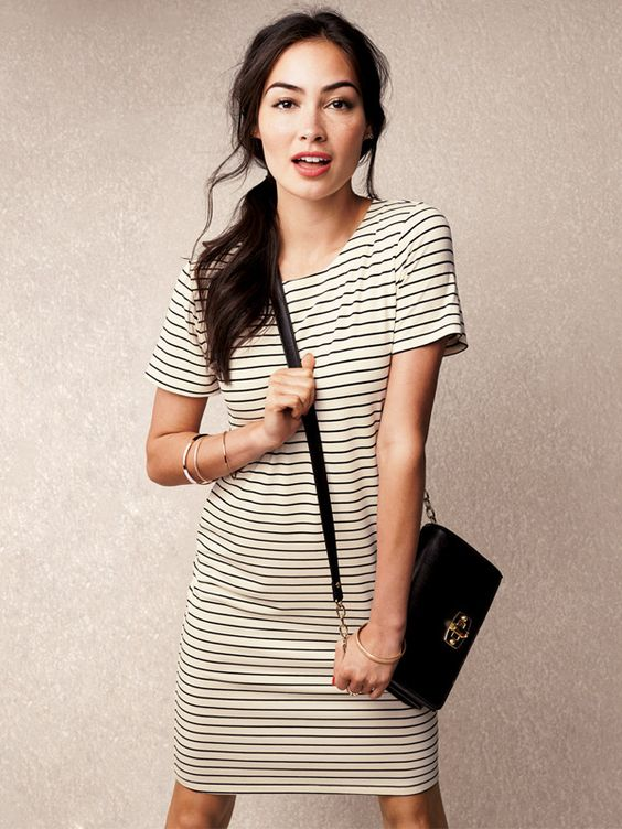 5 striped dresses can wear college outfits 1 - 5 striped dresses that you can wear in college outfits