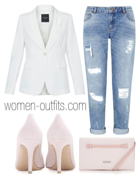 aaca375e577 5 stylish ways to wear a plus size white blazer - larisoltd.com