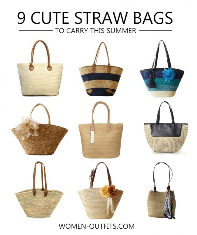9 Cute Straw Bags To Carry This Summer