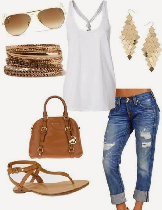 3b83b31eda15 9 casual summer outfits for women with pants and shorts - larisoltd.com