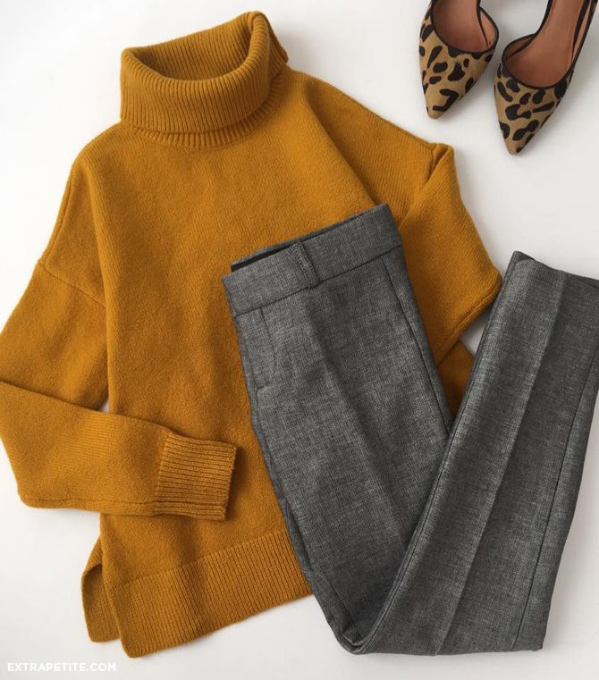 10 chic winter work outfits with grey pants - larisoltd.com