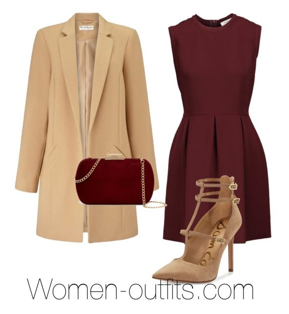 elegant winter outfit with dress thankgiving - 12 dressy Thanksgiving outfit ideas