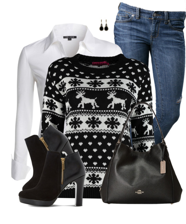 Kersttrui Olaf.15 Christmas Sweater Outfits That You Will Actually Want To Wear