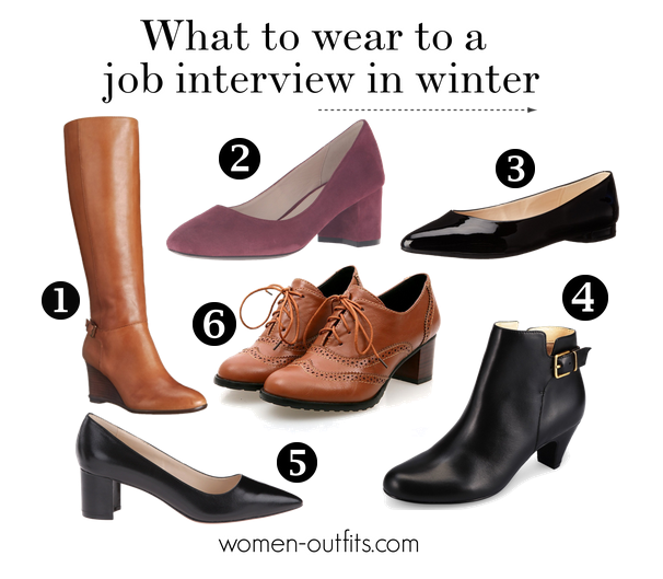 What Shoes To Wear In A Job Interview