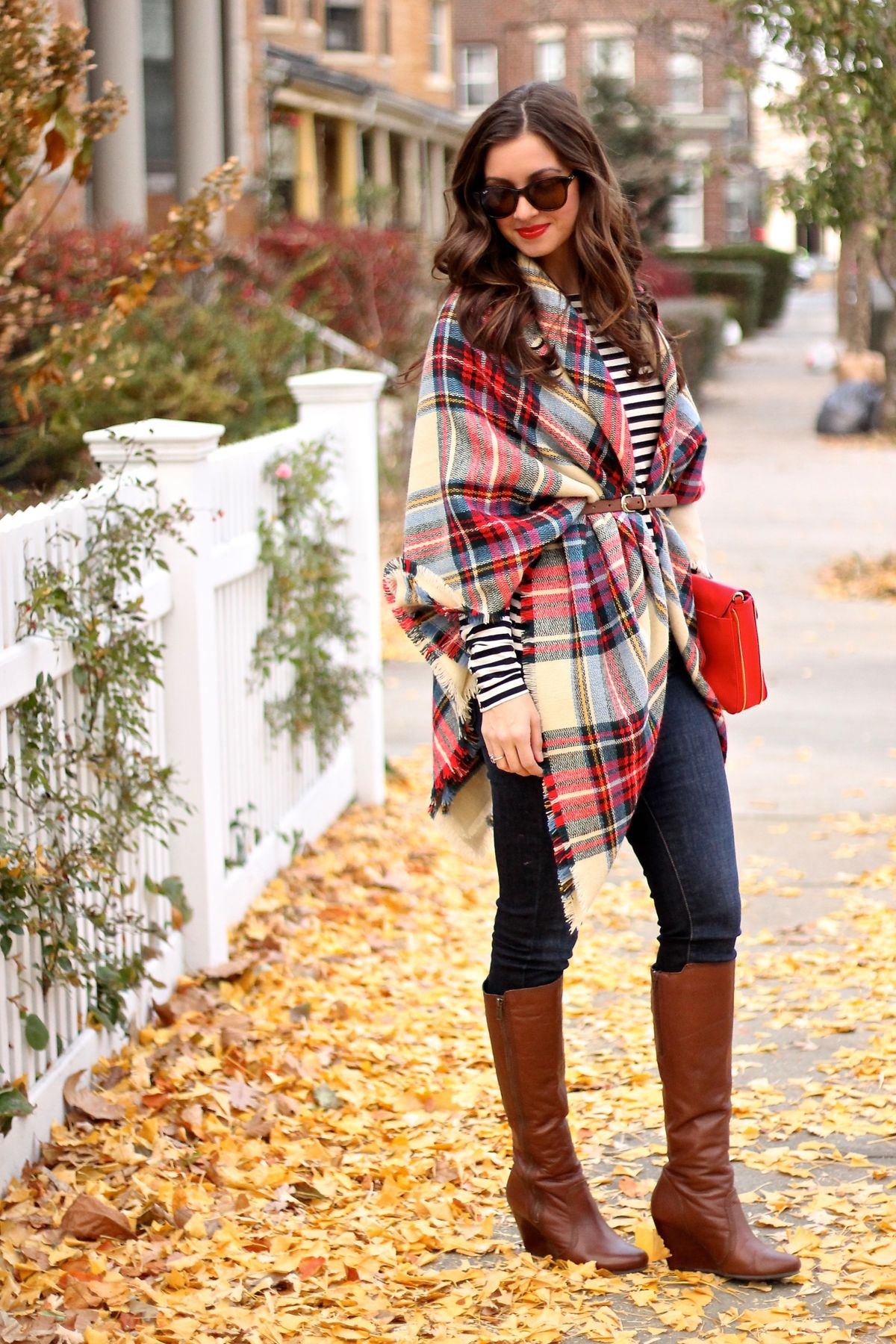Cognac Boots Outfits For Winter 12 Ways To Wear Them With