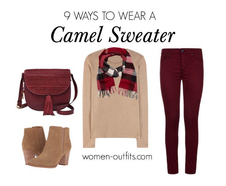 7 fresh ways to wear a camel sweater in winter 6 - 7 fresh ways to wear a camel sweater in winter