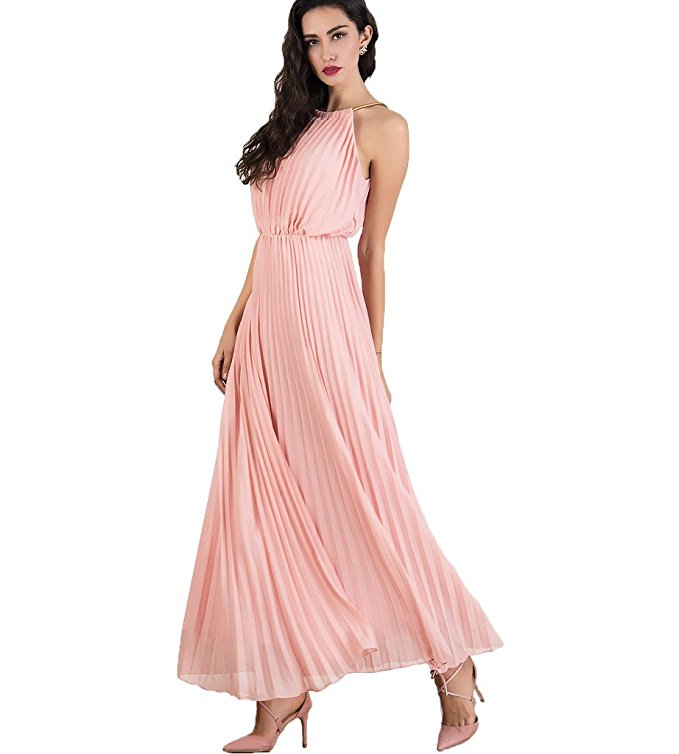 7 maxi pastel dresses wear look amazing 1 - 7 maxi pastel dresses to wear in look amazing