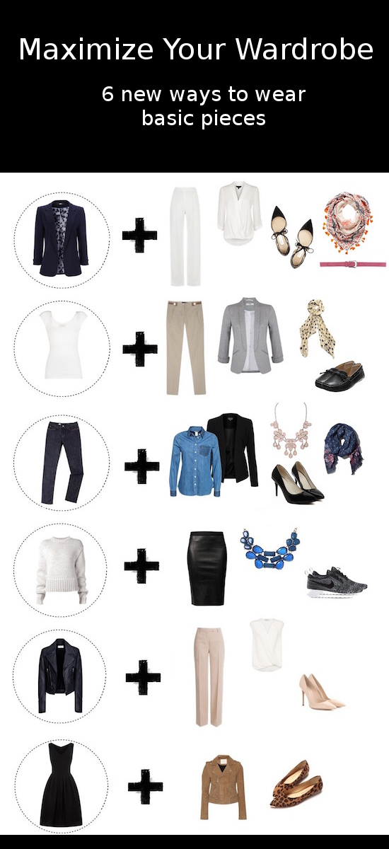 basic wardrobe for work1 - Maximize your wardrobe: 6 year round classic pieces and how to wear the at work